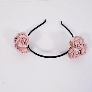 Girl's Flower Roses Headband